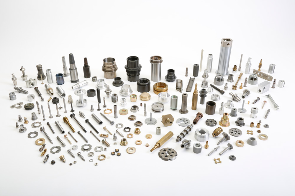 screw machined components